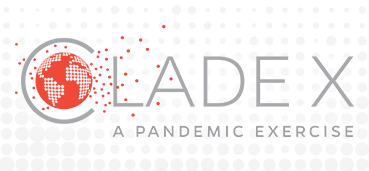 Clade X: A Pandemic Exercise logo