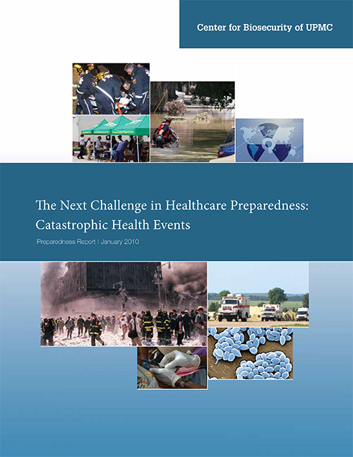 Image of article PDF: The Next Challenge in Healthcare Preparedness--Catastrophic Health Events