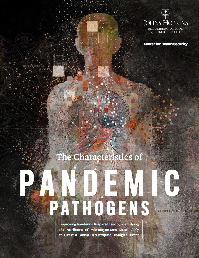 Characteristics of Pandemic Pathogens cover