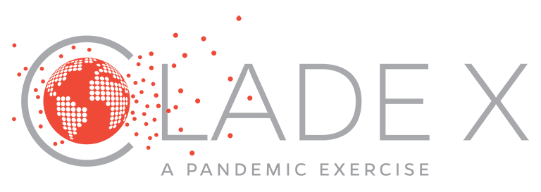 Clade X | A Pandemic Exercise - brand logo
