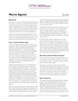 Image of agent fact sheet PDF: Nerve Agents