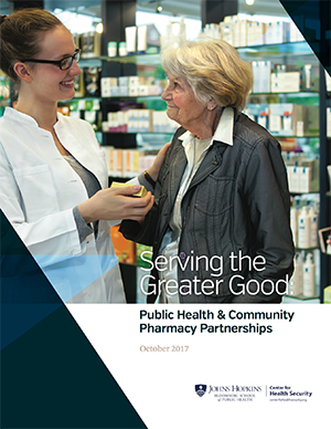 Public Health and Community Pharmacy Partnerships report cover