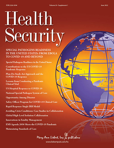 Health Security Journal
