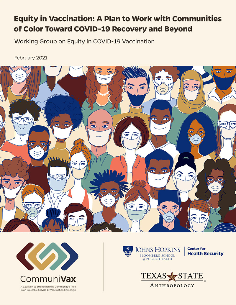 Equity in Vaccination: A Plan to Work with Communities of Color Toward COVID-19 Recovery and Beyond