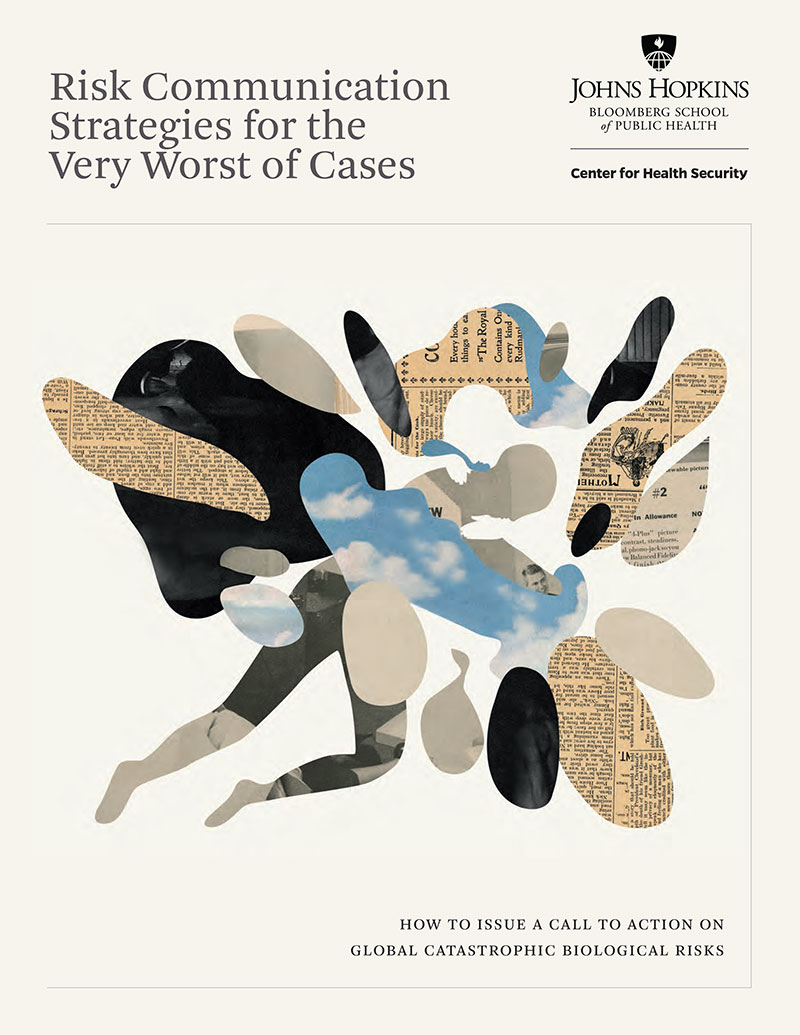 Report cover: Risk Communication Strategies for the Very Worst of Cases