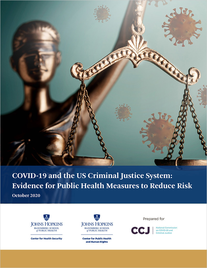 COVID-19 and the US Criminal Justice System: Evidence for Public Health Measures to Reduce Risk