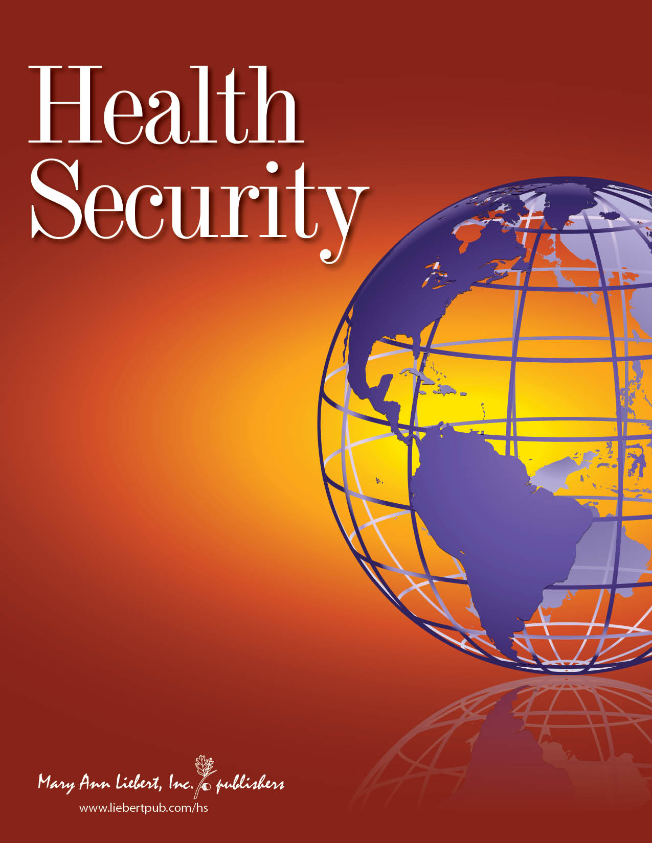 Health Security Journal cover