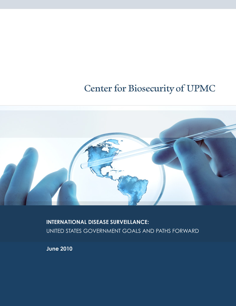 Image of article PDF: International Disease Surveillance: United States Government Goals and Paths Forward